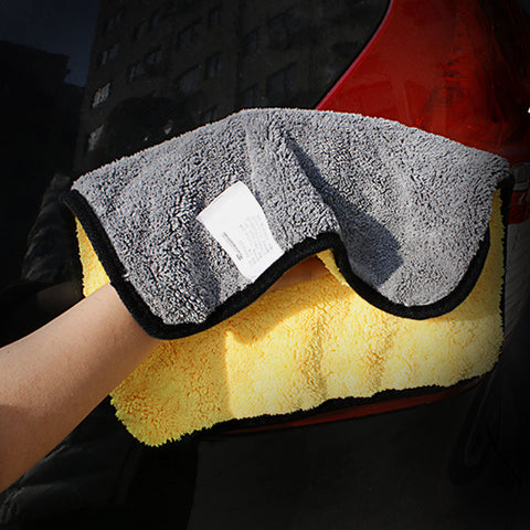 Image of Microfiber Towel Car Cleaning - Two sizing options either 30cm/12' or 30cm/12'x60/24 - I'LL TAKE THIS