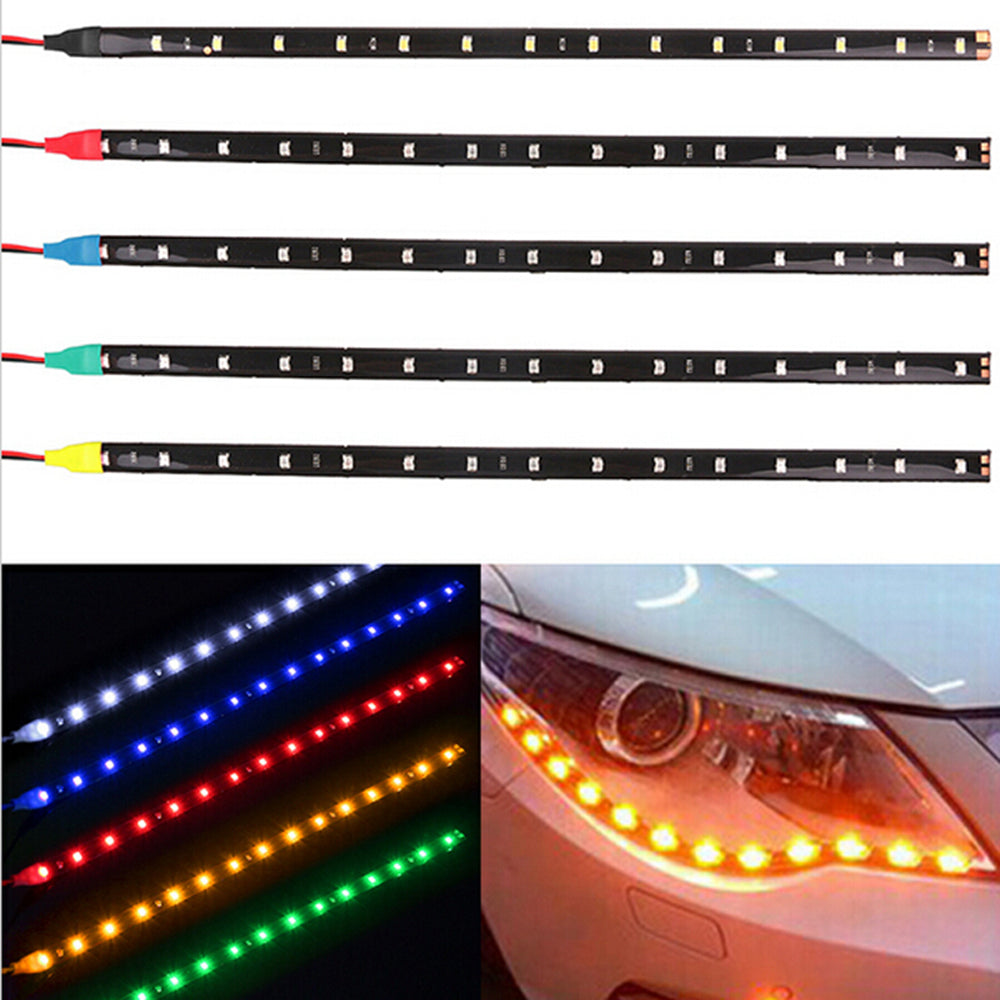 Waterproof LED Daytime Running Light Decorative (DRL) Flexible Car LED Strip 12'/30cm 12V 1Pce - I'LL TAKE THIS