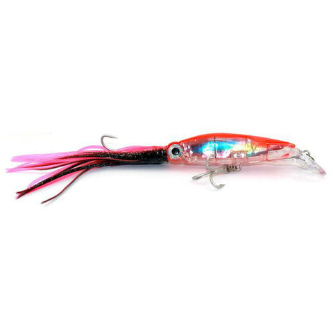 Image of Fishing Lure Squid Like Swimming Bait - 14cm 42g with double treble hooks a unique Fishing Tackle - I'LL TAKE THIS