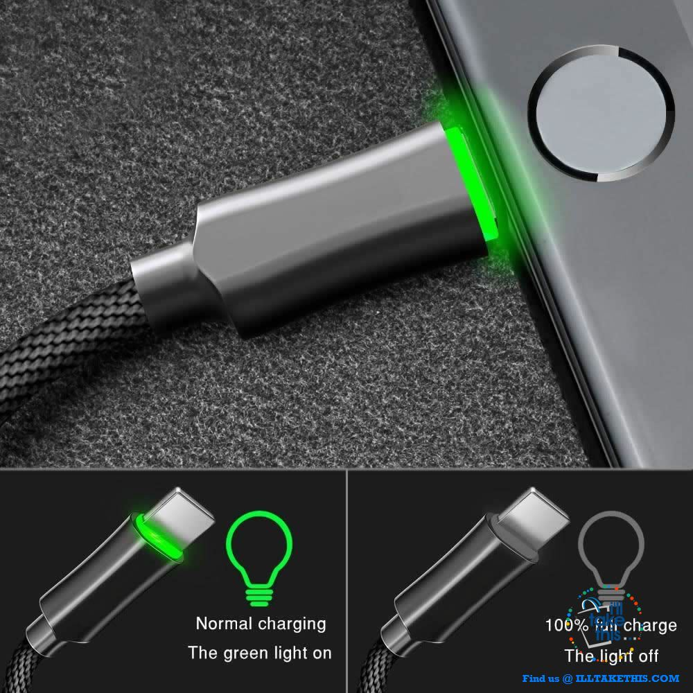 Auto Disconnect Fast Charging For iPhone USB Cable For iPhone XS MAX X Data Cable For iPhone 8 7 6 6s - I'LL TAKE THIS