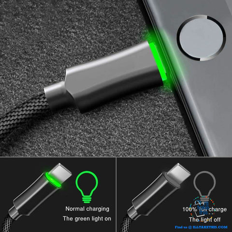 Image of Auto Disconnect Fast Charging For iPhone USB Cable For iPhone XS MAX X Data Cable For iPhone 8 7 6 6s - I'LL TAKE THIS