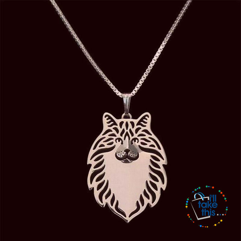 Norwegian Forest Cat With FREE Chain Necklace - I'LL TAKE THIS