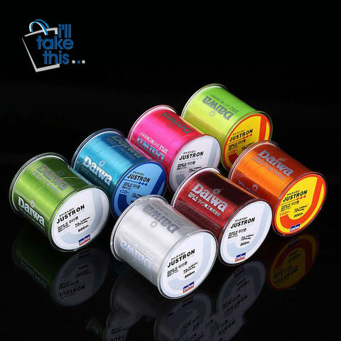 Image of Nylon Fishing Line 500m/546yd Japanese Durable Mono-filament Rock Sea Fishing Line Daiwa Thread - I'LL TAKE THIS