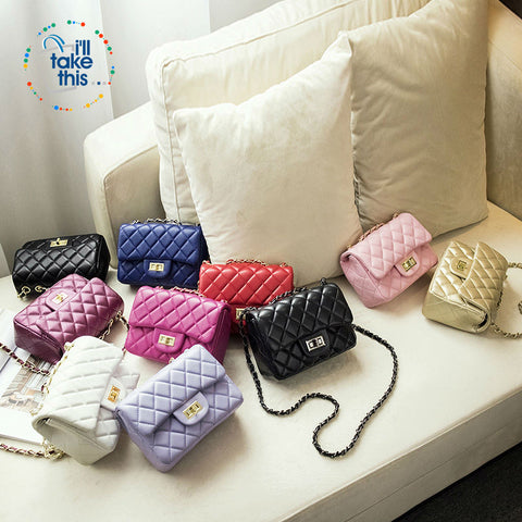 Image of Quilted Design Luxury Small size Shoulder Handbags, 9 Colors in a Vintage Crossbody Bag - I'LL TAKE THIS