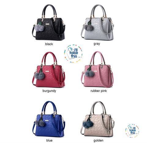 Image of Luxury Floral Design Handbag Collection in a Classic Vintage Crossbody Bag - 6 Colors - I'LL TAKE THIS