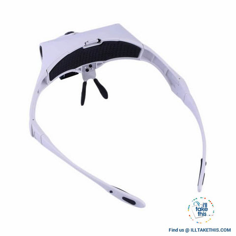 Image of Ultimate illuminated Head Magnifier - Helps You See The Tiniest Details - I'LL TAKE THIS
