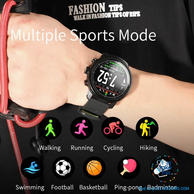 ⌚ Super Sports Carbonfibre Smartwatches, Multi-Sports Mode - Bluetooth, 3 Color options - I'LL TAKE THIS