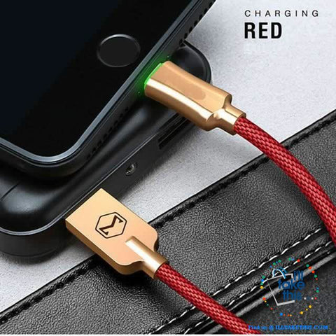 Image of Auto Disconnect Fast Charging For iPhone USB Cable For iPhone XS MAX X Data Cable - I'LL TAKE THIS