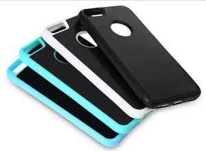 Anti-gravity nanosuction iPhone Case For all iPhones. Stick it where you need a helping hand.