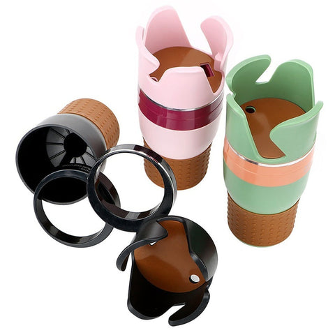 Image of Automotive Multi Cups Organizer Phone Holder Car Drink Bottle Gadget Storage - I'LL TAKE THIS