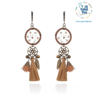 LOOK your best with our Elegantly styled Ethnic Vintage Drop Earrings