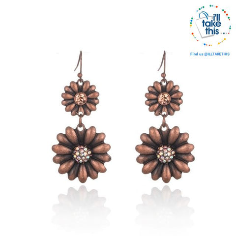 LOOK your best with our Elegantly styled Ethnic Vintage Drop Earrings - I'LL TAKE THIS