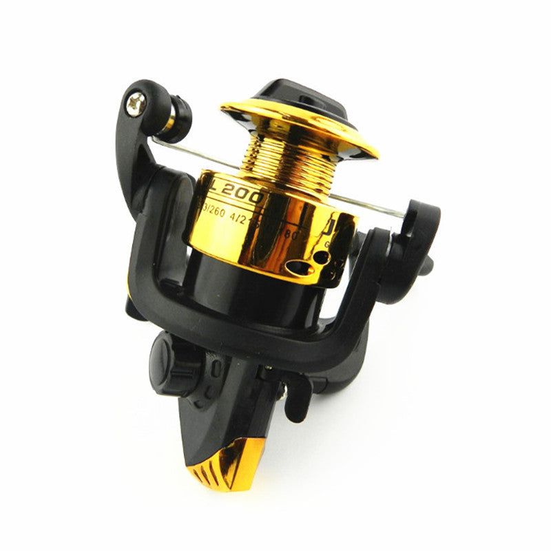 Starter Spinning Fishing Reel, 3 ball bearing, 120/150ft of Fishing line with 3 color options, 5.1:1 - I'LL TAKE THIS