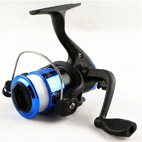 Image of Starter Spinning Fishing Reel, 3 ball bearing, 120/150ft of Fishing line with 3 color options, 5.1:1 - I'LL TAKE THIS