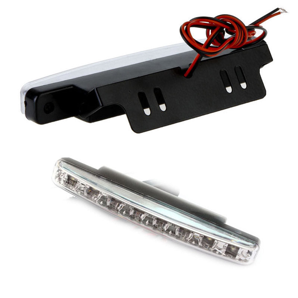 Daytime driving running light 8 LED led DRL Universal fog lights for cars Waterproof White DC 12V - I'LL TAKE THIS