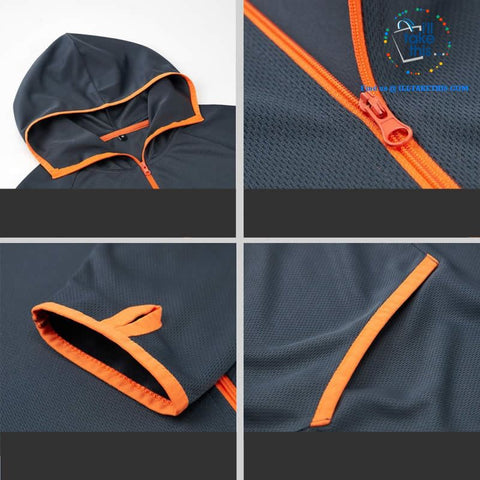 Image of Waterproof Hooded Jacket, Water, Splash & Sun resistant Men's/Women's Jackets in 3 Colors options - I'LL TAKE THIS