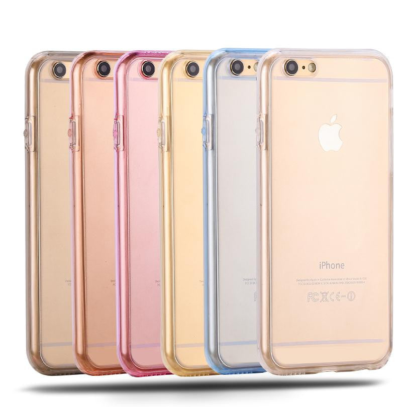iPhone 7, 6s Cases Protect Transparent Silicone Flexible Soft full Body Protective Clear Cover - I'LL TAKE THIS