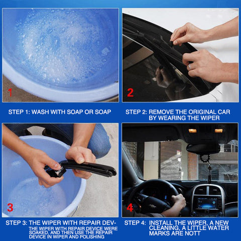 Image of Windshield Rubber Strip Wiper Repair Tool suit Car or Truck ideal wiper Scratch Repair Kit Cleaner - I'LL TAKE THIS