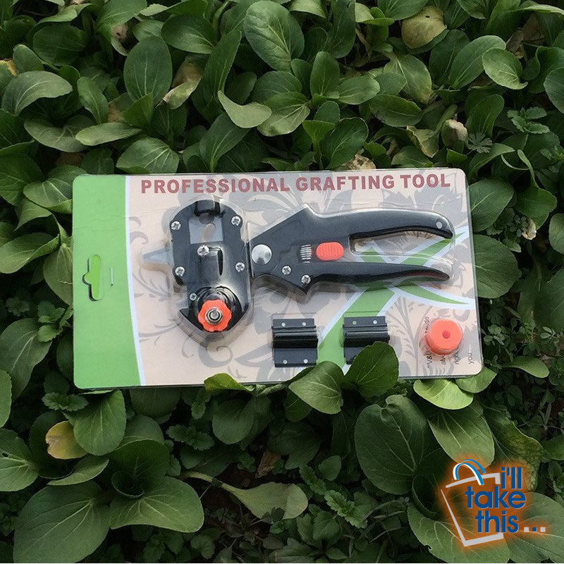 Grafting Secateurs Machine only, great Garden Tools with 2 Blades for Tree Grafting, Secateurs or Cutting Pruner - I'LL TAKE THIS