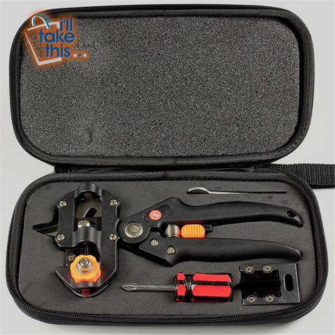 Image of Grafting Secateurs Kit with 2 Blades for Tree Grafting, Secateurs or Branch Pruner - I'LL TAKE THIS