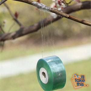 Grafting Tape for the prevention of disease in your Shrubs, Trees or Fruit Tree PVC bind belt or tie Tape 2CM x 100M / 1 RolI - I'LL TAKE THIS