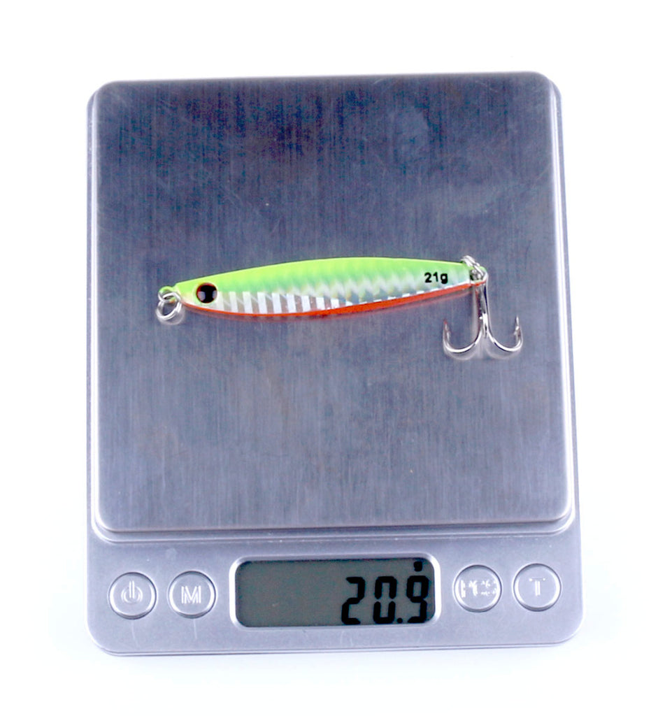 Fishing Lure Colorful Metal Wobbler's - 14g 21g 30g Iron Plate lures' - I'LL TAKE THIS