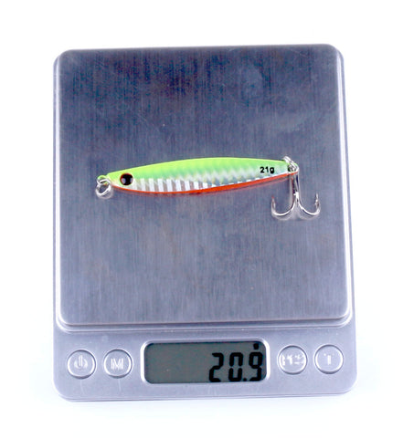 Image of Fishing Lure Colorful Metal Wobbler's - 14g 21g 30g Iron Plate lures' - I'LL TAKE THIS