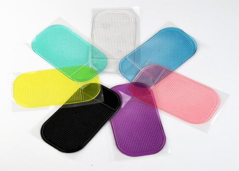 Anti-Slip Mat for Mobile Phone or GPS a great Automobile Interior Car Accessories, 7 colors - I'LL TAKE THIS