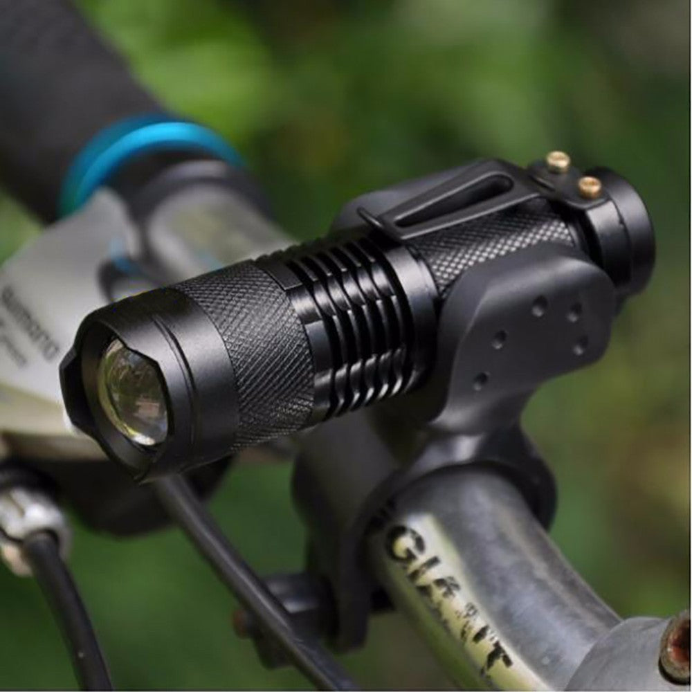 "Tactical Flashlight Lumens Torch Cree Q5 LED Zoomable - FREE Promotional Product, ""Just pay Shipping + Handling"" - I'LL TAKE THIS"