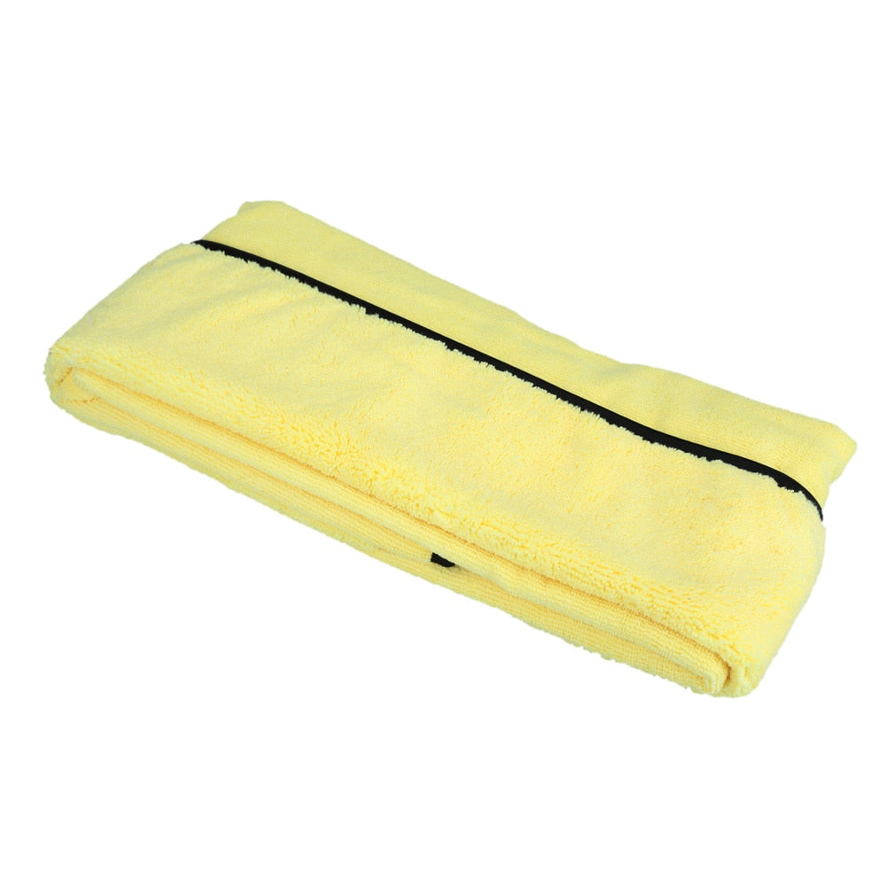 Extra Large Microfiber Car Cleaning Cloths excellent Large surface Drying Cloths/Car Detailing 92cm/36' *56cm/22' - Yellow - I'LL TAKE THIS
