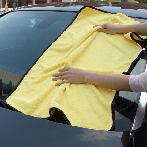 Image of Extra Large Microfiber Car Cleaning Cloths excellent Large surface Drying Cloths/Car Detailing - I'LL TAKE THIS