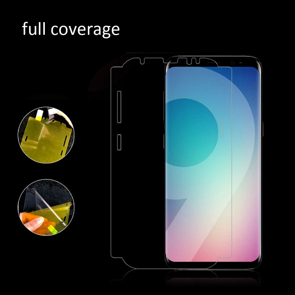 Ultra-thin wrap around Edge to Edge - Nano Protective transparent Film for Samsung Galaxy Series S9 - I'LL TAKE THIS