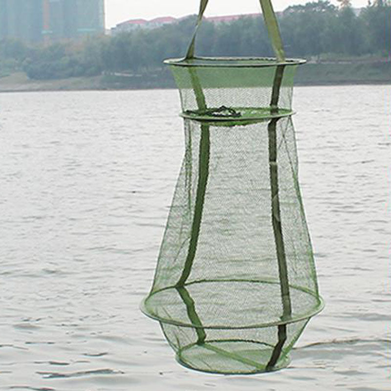 Portable Fishing Net - 3 Layer Small Nylon mesh hole design - I'LL TAKE THIS