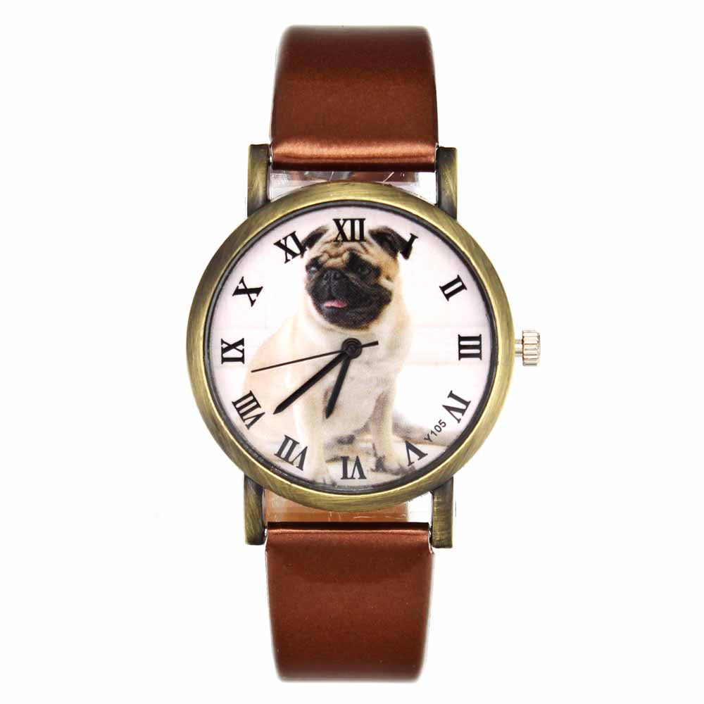 Pug Pet Dog Women's Casual Fashion Silicone Band Watchband Wrist Watch - I'LL TAKE THIS