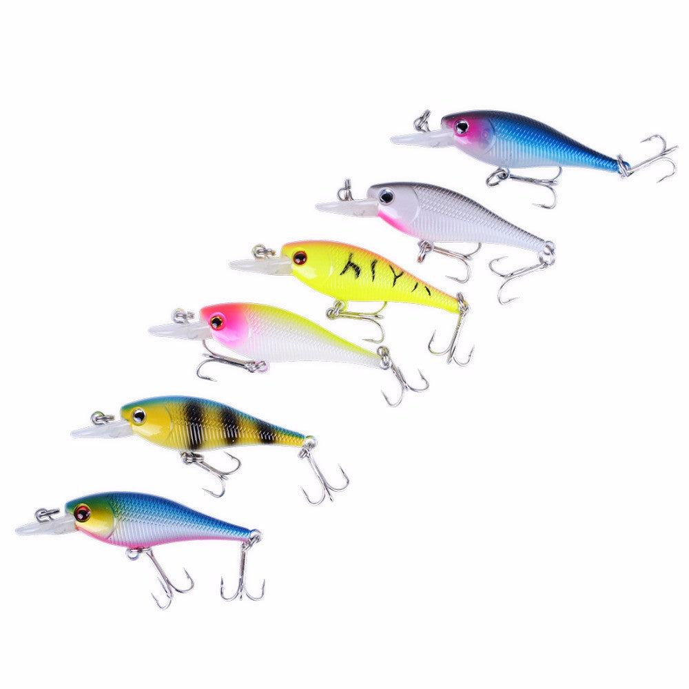 FISHING LURES - Hard ARTIFICIAL LURES MINNOW Set Japan Steel Balls 😊 - I'LL TAKE THIS