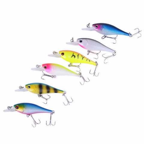 Image of FISHING LURES - Hard ARTIFICIAL LURES MINNOW Set Japan Steel Balls 😊 - I'LL TAKE THIS