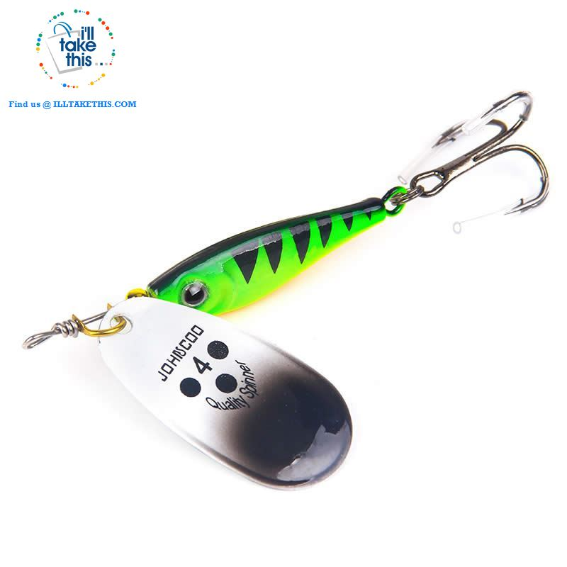 Fishing Lures - JerkBaitPro™ Spinner, Classic Super bright colorful Spoon VIB-Sequin hard lures - I'LL TAKE THIS