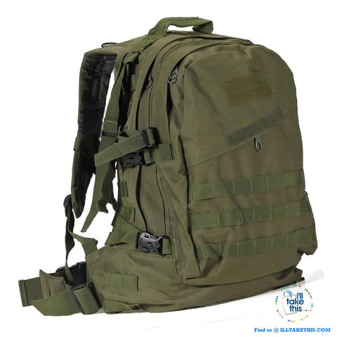 Tactical Camouflage Backpack HUGE 55L for Outdoor Sport, Climbing Mountaineering Backpack - I'LL TAKE THIS