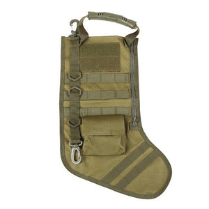🎄Tactical Christmas Stocking - Molle Bag Dump Drop Pouch Utility Storage Bag Military Combat Hunting Christmas Socks Gift Pack