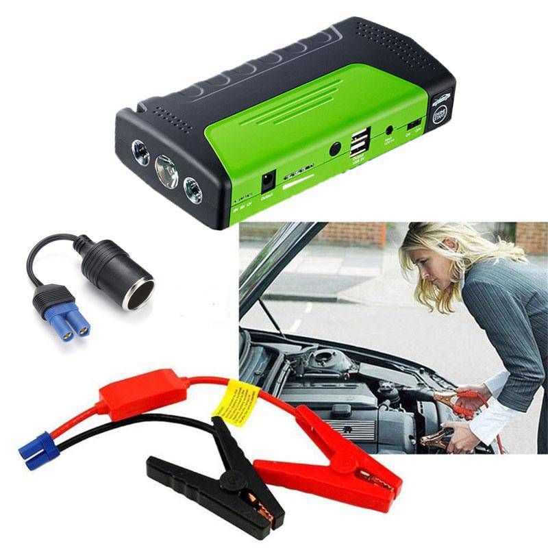 Jump Starter & Portable Power Bank - Convenient In Emergencies - I'LL TAKE THIS