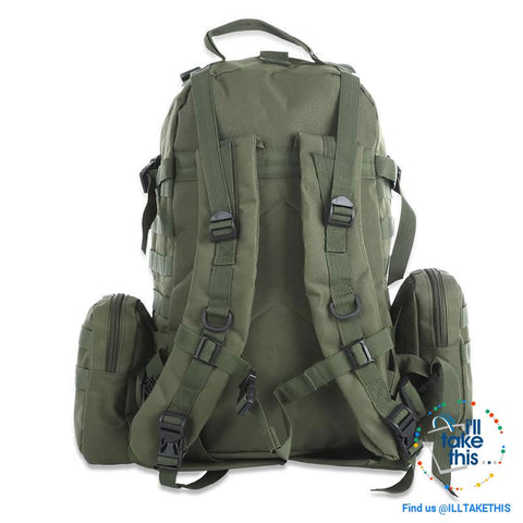 Image of Tactical Camouflage Backpack HUGE 50L Outdoor Sport, Climbing, Hiking, Camping, Travel Sports Bag - I'LL TAKE THIS