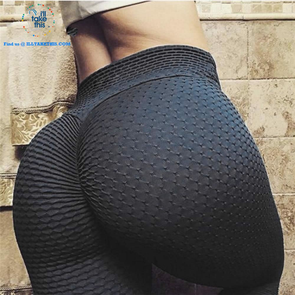 Cellulite busters Women leggings ideal Fitness Athleisure High Waist Sexy Body Sculpting Leggings - I'LL TAKE THIS