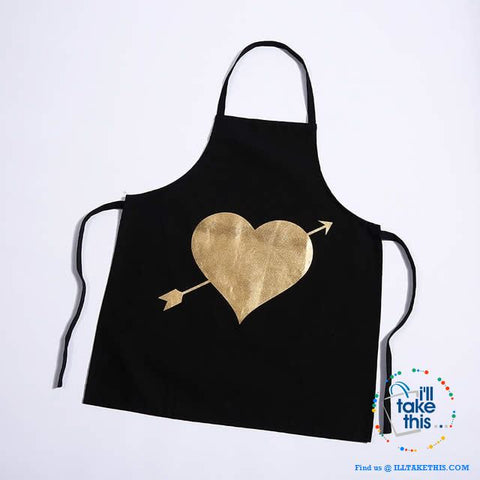 Image of Colorful Kitchen Apron Series Love hearts to eyelashes loads of Colors - I'LL TAKE THIS