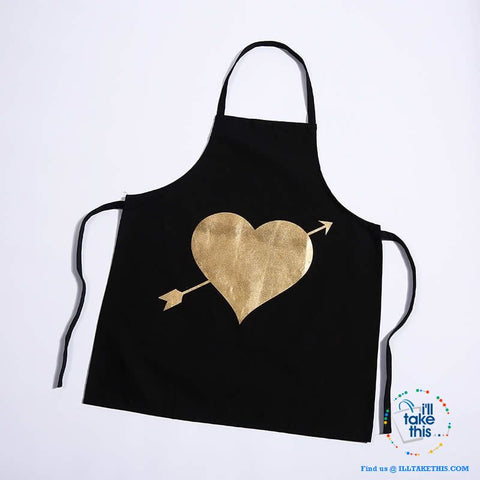 Colorful Kitchen Apron Series Love hearts to eyelashes loads of Colors - I'LL TAKE THIS