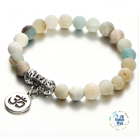 Image of Vintage Yoga Strand Bracelets' - Natural Stone Handmade Unisex Wristband Beads - I'LL TAKE THIS
