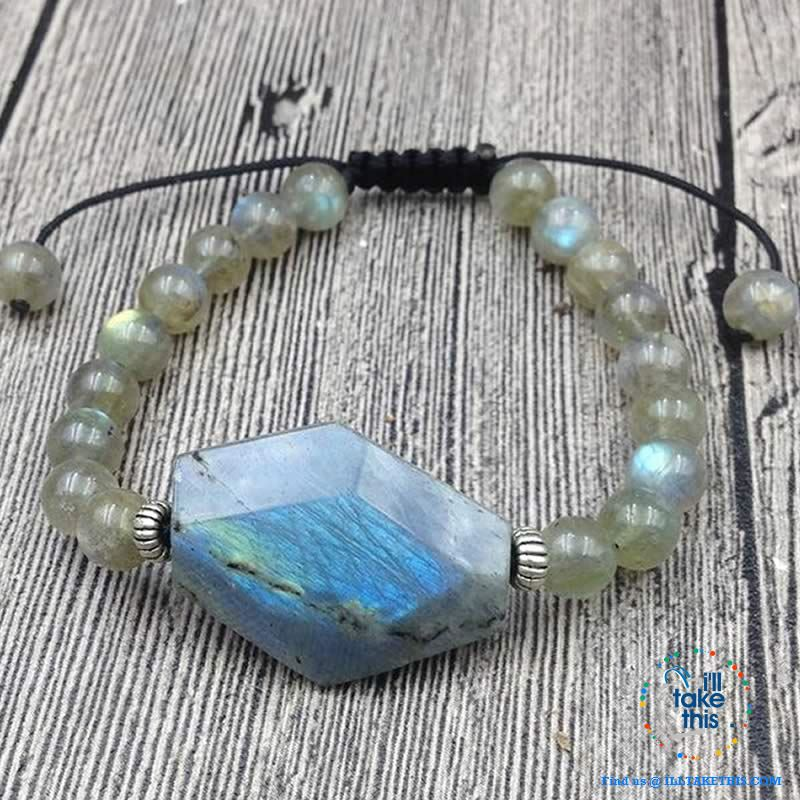 Destiny Natural Labradorite Stone Bracelets - I'LL TAKE THIS
