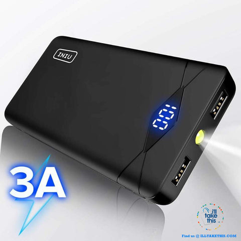 Image of Dual USB Portable Charger Powerbank Suits iPhone/iPad/Samsung Androids Phones - I'LL TAKE THIS
