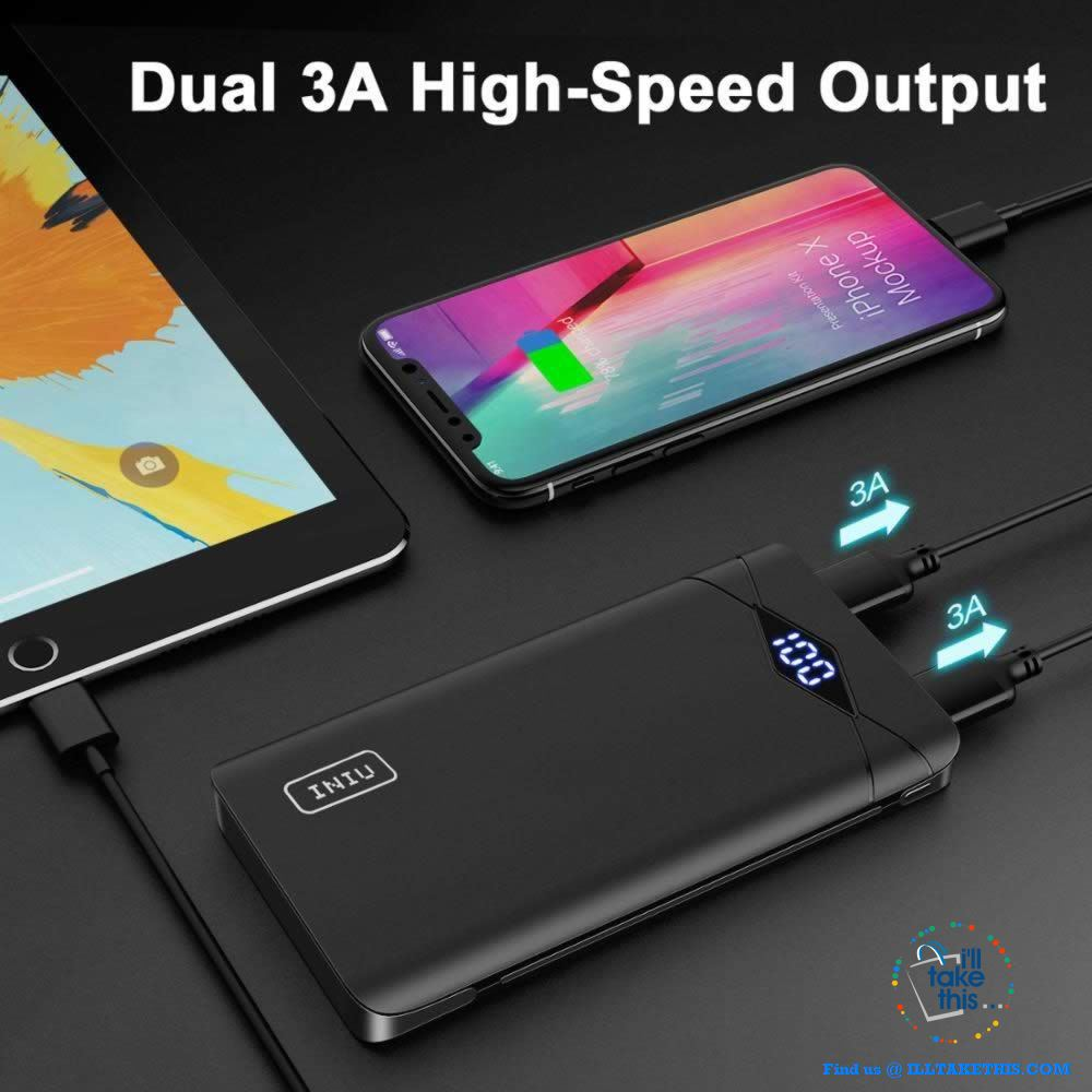 Dual USB Portable Charger Powerbank Suits iPhone/iPad/Samsung Androids Phones - I'LL TAKE THIS