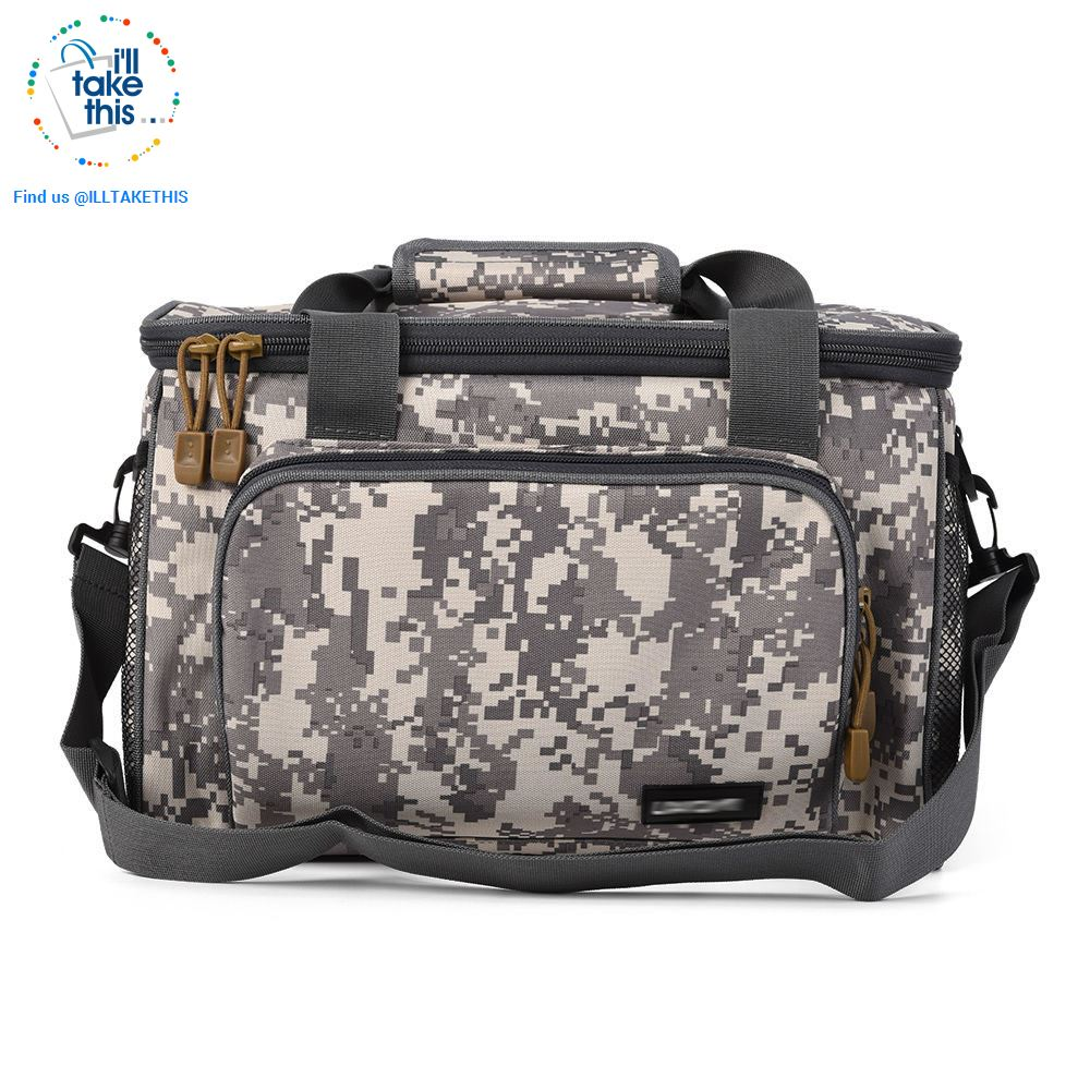 Fishing Bag - Built tough with Canvas Multi-function Bag with Waist/Shoulder Strap - 3 Colors - I'LL TAKE THIS