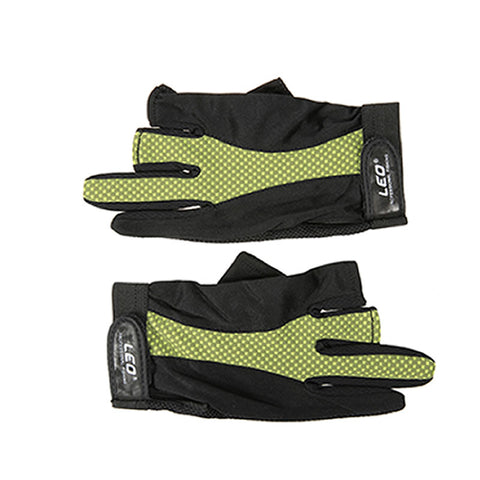 Image of 1 Pair 3 Fingerless Gloves Anti-slip Breathable Lightweight Fishing Gloves Outdoor Sports Cycling Camping Running - I'LL TAKE THIS